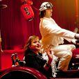 Catherine Jacob et Fred Tousch lors du 50e Gala de l'Union des Artistes le 21 novembre 2011 au cirque Alexis Grüss