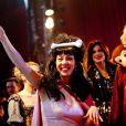Shirley et Helena Noguerra lors du 50e Gala de l'Union des Artistes le 21 novembre 2011 au cirque Alexis Grüss