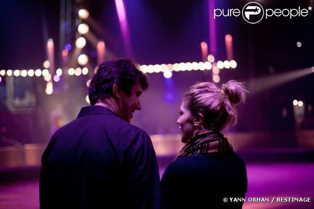 Stéphane Ricordel et Alysson Paradis lors du 50e Gala de l'Union des Artistes le 21 novembre 2011 au cirque Alexis Grüss