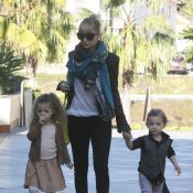 Nicole Richie : Shopping intensif avec ses adorables bambins