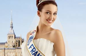 Delphine Wespiser : La plus somptueuse des Miss France en robe de mariée
