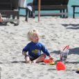 Le petit Amadeus le 26 décembre sur la plage de Miami