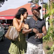 Djimon Hounsou et Kimora Lee : Après la plage avec leur petit, place au shopping