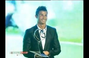 Cristiano Ronaldo sacré meilleur joueur du monde devant son fils et sa chérie