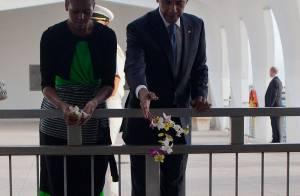 Barack et Michelle Obama : Pause émotion pendant leurs belles vacances