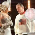Lady Gaga et le maire Michael Bloomberg à Time Square, New York, le 31 décembre 2011.