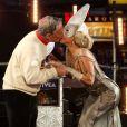 Lady Gaga et le maire Michael Bloomberg à Time Square, New York, le 31 décembre 2011.