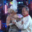 Lady Gaga et le maire de New York Michael Bloomberg pour compte à rebours final, le 31 décembre 2011.