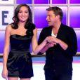 Benjamin Castaldi et Valérie Bègue dans la nouvelle version de La Roue de la Fortune le lundi 2 janvier 2011 sur TF1 à 11h05