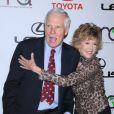 Jane Fonda et Ted Turner en octobre 2010 à Los Angeles