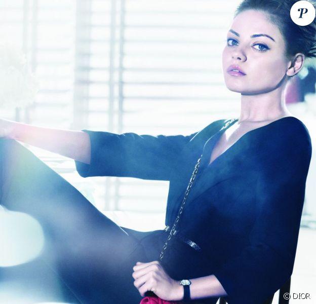 Mila Kunis, parfaite en égérie Dior pour la campagne Printemps/été 2012