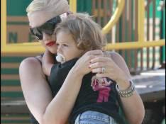 PHOTOS : Gwen Stefani après la plage, le toboggan !
