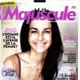 Aurélie Anger en couverture du Femme Majuscule de Janvier-Février 2012