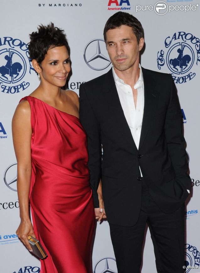 Olivier Martinez couple