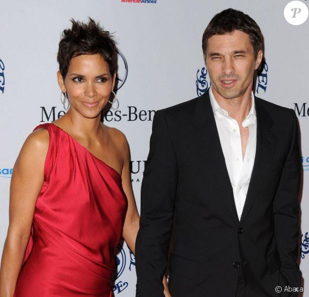 Halle Berry et Olivier Martinez en octobre 2010