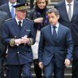 Nicolas Sarkozy à la préfecture de Lille où il a présenté ses voeux à la fonction publique, le 12 janvier 2012.