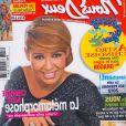 Chimène Badi en couverture de Nous Deux (janvier 2012)