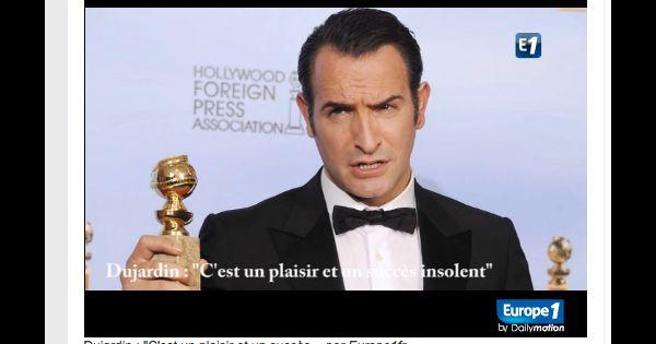Jean dujardin en interview pour europe 1 peu apr s l for Dujardin 94