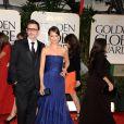 Bérénice Bejo et Michel Hazanavicius lors des Golden Globes à Beverly Hills le 15 janvier 2012
