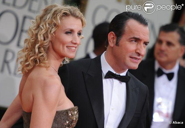 Golden globes 2012 l 39 amour et les larmes d 39 alexandra for Lamy dujardin