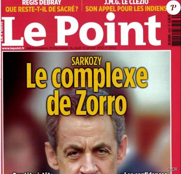 Le Point du 12 janvier 2012.