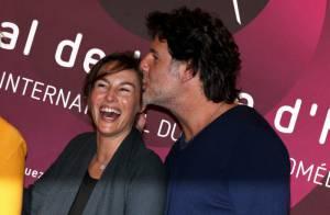 Vanessa Demouy et son mari Philippe Lellouche en pleine euphorie