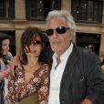 Pierre Arditi et son épouse Evelyne Bouix