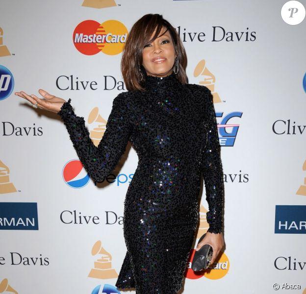 La diva Whitney Houston à Los Angeles en février 2011.