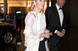 La princesse Maxima fait briller son élégance et sa bonne humeur de gala