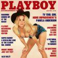 Pamela Anderson pour le magazine  Playboy , juillet 1992.