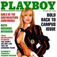 Pamela Anderson pour le magazine  Playboy , octobre 1989.