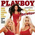Pamela Anderson pour le magazine  Playboy , juin 1998.