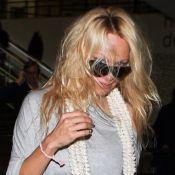 Pamela Anderson, de sexy à négligée : l'avion ne lui réussit pas