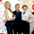 Blake Lively, Jason Wu et Chloë Moretz lors de la soirée de lancement de la collection Jason Wu pour Target, à New York, le 26 janvier 2012
