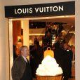 """Patrick-Louis Vuitton lors de l'inauguration de la """"Maison Rome Étoile"""", nouvelle boutique Louis Vuitton à Rome, le 27 janvier 2012"""