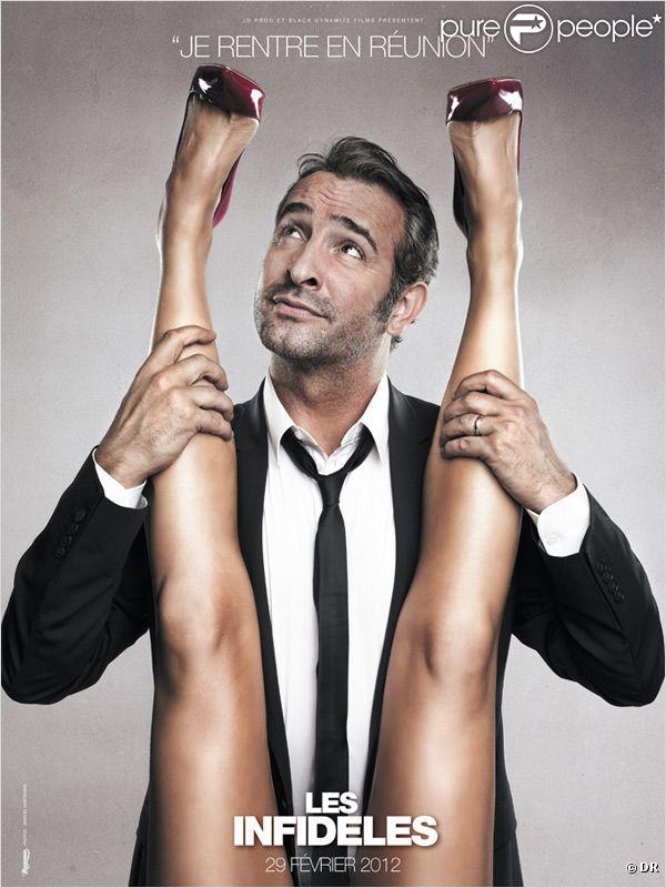 Les infid les les affiches du film de jean dujardin vont for Jean dujardin sex