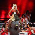 Nicki Minaj le 4 février 2012 lors du show donné à la mi-temps du Super Bowl à Indianapolis