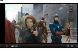 Avengers : Des images explosives de Scarlett Johansson et Robert Downey Jr.