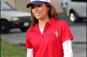 PHOTOS : Eva Longoria marche contre le cancer...