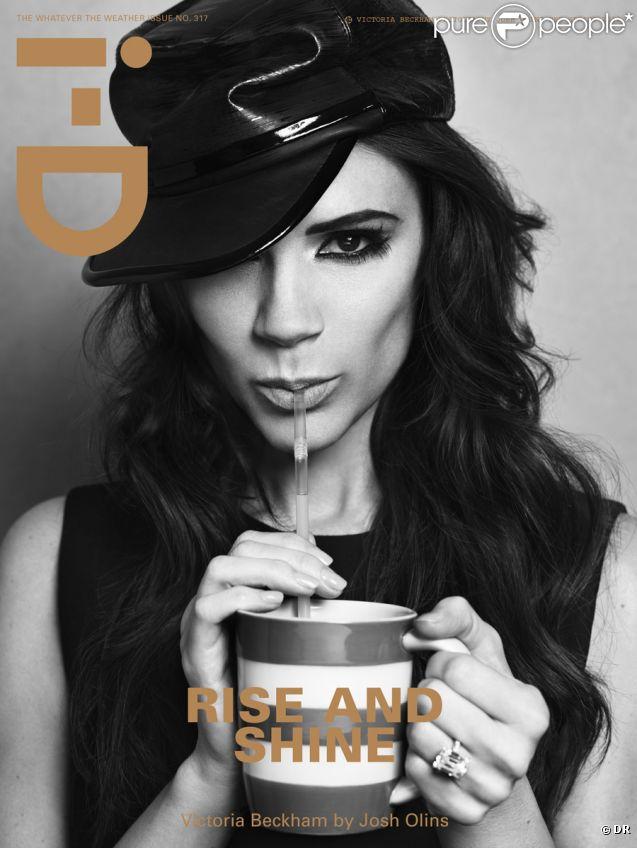 Victoria Beckham se dévoile dans le numéro 317 du magazine i-D.
