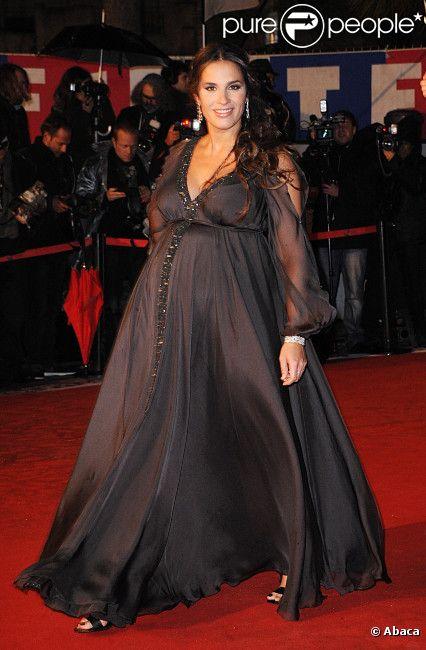 Elisa Tovati aux NRJ Music Awards le 28 janvier 2012