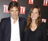 Guy Lagache et Karine Le Marchand avec leurs conjoints pour un bel anniversaire