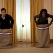 Michelle Obama : Après Ellen DeGeneres, la sportive se mesure à Jimmy Fallon