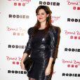 Émilie Simonlors du lancement de la collection Rodier chez Brand Bazar, à Paris, le 9 février 2012