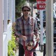 Ben Affleck et l'adorable Seraphina, à Los Angeles, le 12 février 2012