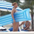 Queen Latifah sur les plages de Miami