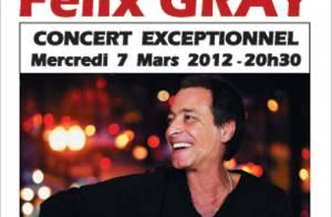 Félix Gray : Après Shéhérazade et la naissance de son fils, il revient enfin...