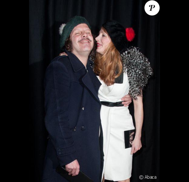 Julie Depardieu et Philippe Katerine le 23 janvier 2012 à Paris