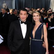 Oscars 2012 : Jean Dujardin et Alexandra Lamy brillent avant le sacre