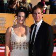 Scott Bakula et son épouse Chelsea Field aux Screen Actor's Guild Awards, à Los Angeles, le 19 janvier 2012.